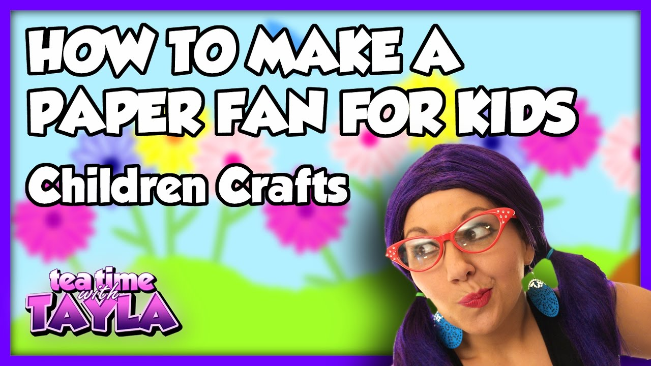 How to Make Paper Fans for Kids  HowStuffWorks