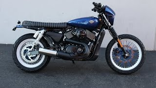 Harley Davidson Street 750 Brat Conversion