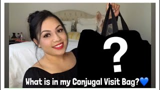 What's in my bag for CONJUGAL VISIT ? 💏💙 Prison Wife ☝🏼