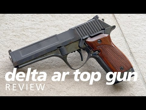 Review: Delta AR Top Gun - a CZ52 in 45acp