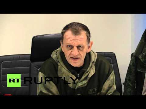 Ukraine: French delegation speak alongside volunteers in Donetsk