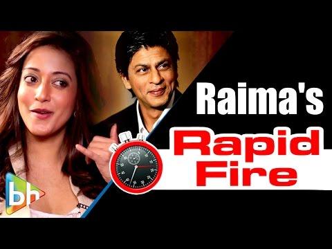 Raima Sen's Entertaining Rapid Fire On Shah Rukh, Ranbir, Casting Couch, Bajirao Mastani