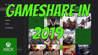 HOW TO GAMESHARE ON XBOX ONE IN 2019 (SUPER EASY)