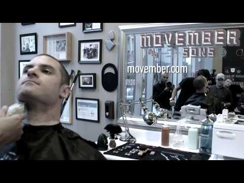 Mike Brown Movember Shave Down