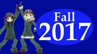 Fall 2017 Anime Roundup