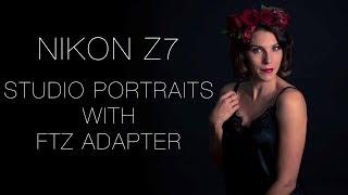 Nikon Z7 Studio Self Portraits with the FTZ Adapter and SnapBridge