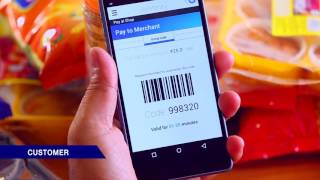 How to accept payments from customers through Barcode feature in JioMoney Merchant App