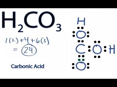 H2CO3 Lewis Structure How  H2co3 Lewis Structure