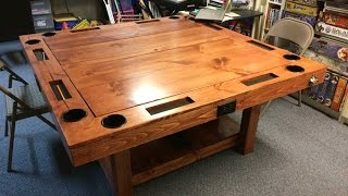 DIY Gaming Table for $150