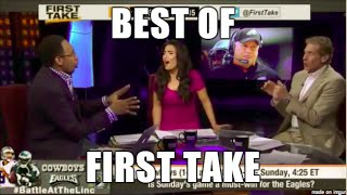 Best of First Take: Skip, Stephen A, & Molly Funny Moments