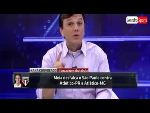 Mauro Cézar: 'A convocação do Kaká é uma grande piada. É absurda'