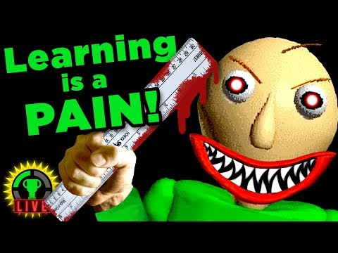 MY TEACHER IS CRAZY!! | Baldi's Basics in Education and Learning (Part 1)