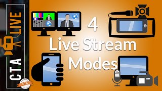 Four Ways to Live Stream - You'll Use Most of Them!