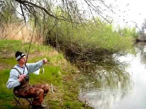 рыбалка на конурке