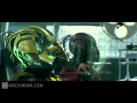 Mortal Kombat: Legacy: Cyrax and Sektor Skrillex Reptile Theme