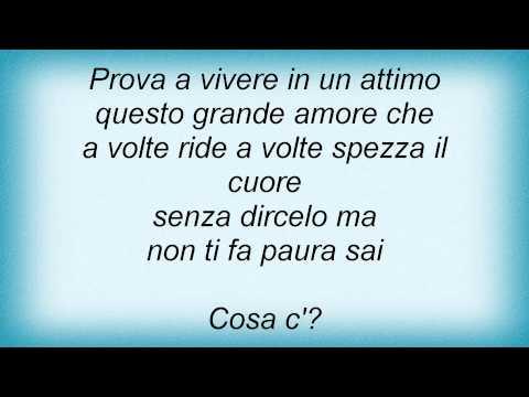 Biagio Antonacci - Voglio Vivere In Un Attimo