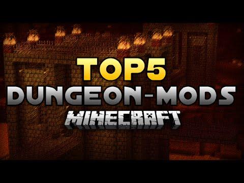 TOP 5: Minecraft DUNGEON - MODS