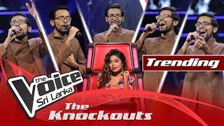 Harith Wijeratne - Haduna Gatthoth Oba Ma The Knockouts | The Voice Sri Lanka