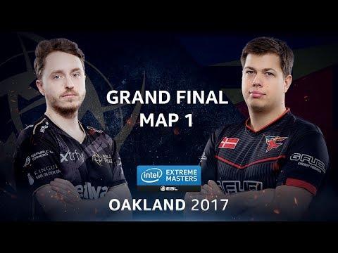 CS:GO - NiP vs. FaZe [Cbble] Map 1 - GRAND FINAL - IEM Oakland 2017