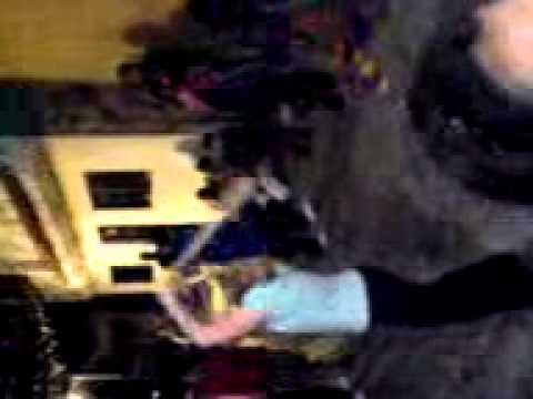 12-28-09 Terri Tries to Break the Pinata in Cuernavaca