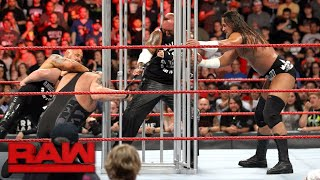 Download Big Cass, Luke Gallows & Karl Anderson attack Big Show's hand: Raw, Aug. 14, 2017 3Gp Mp4