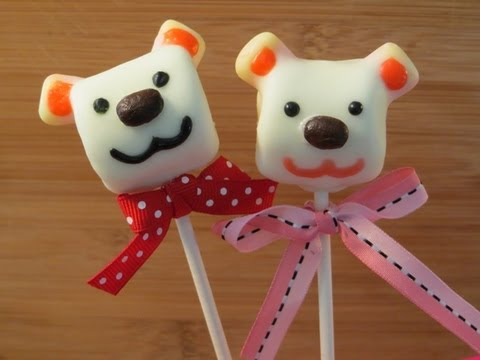 Marshmallow Bear Pop for Valentine s Day by SparkedIdeas