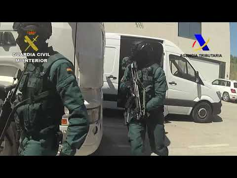 Operación Fraternity de Guardia Civil y Agencia Tributaria
