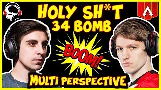 Shroud and Skadoodle DESTROYS Apex Legends Lobby * 34 Bomb* ( Shroud Octane Gameplay #124)