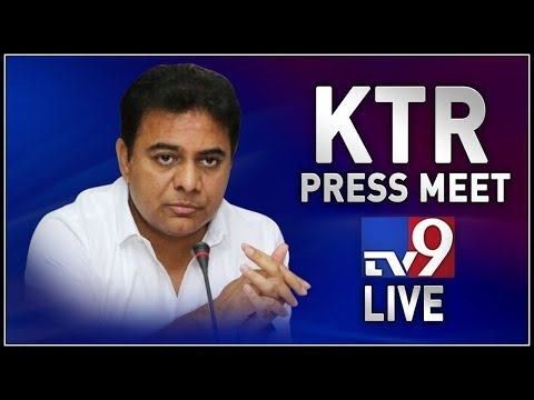 KTR Press Meet LIVE || Thank You Meet  - TV9 Telugu