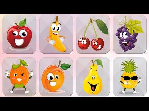 Fruits - Kids Learning Flashcards (Free Educational Game) | Kids Game | Learn | Educational | Fun