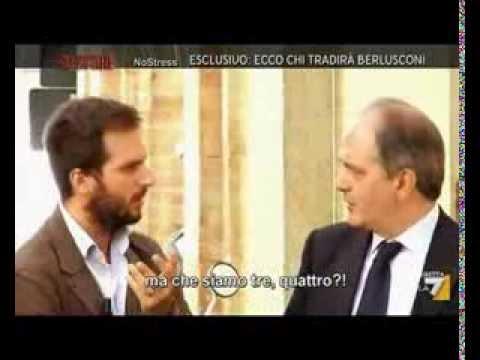 """Ecco chi tradirà Berlusconi """"Piazza Pulita 16 Sett 2013″"""