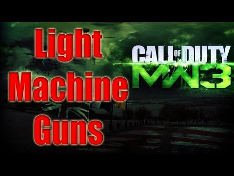 MW3 Guns Confirmed - LMGs Modern Warfare 3 Light Machine Guns List Photos