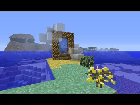 How to make a heaven (Aether 2) portal in Minecraft 1.8.4