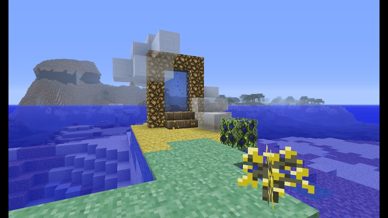 How To Make A Heaven Aether 2 Portal In Minecraft 184