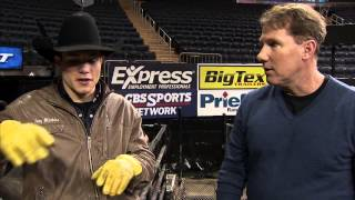 Nicholas Sparks and PBR's Jory Markiss Discuss Professional Bull Riding for The Longest Ride