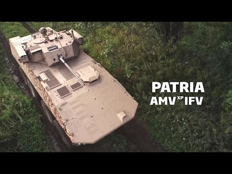 Patria - AMV XP 8X8 Infantry Fighting Vehicle [1080p]