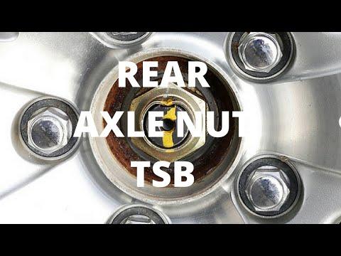 Rear Axle Nut TSB | Honda S2000