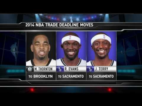 Marcus Thornton to the Nets/Spencer Hawes to the Cavaliers #TheHangout