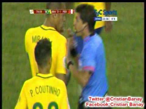 Peru 1 Brasil 0 (Relato J,R,Cid)  Copa America Centenario 2016