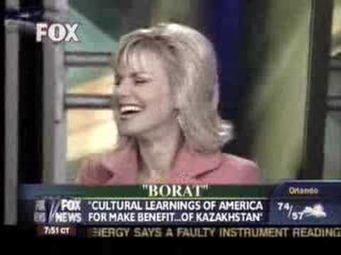 Borat on Fox and Friends