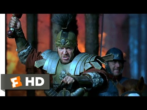 Gladiator (1/8) Movie CLIP - Maximus Leads His Troops to Victory (2000) HD