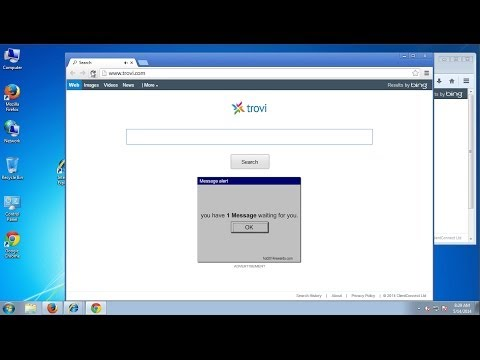 How to remove Trovi.com from  IE, Firefox and Google Chrome (Trovi search engine removal)