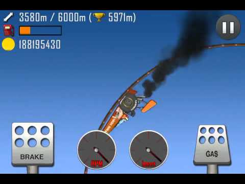 hill climb racing roller coaster 5988 meters with. Black Bedroom Furniture Sets. Home Design Ideas