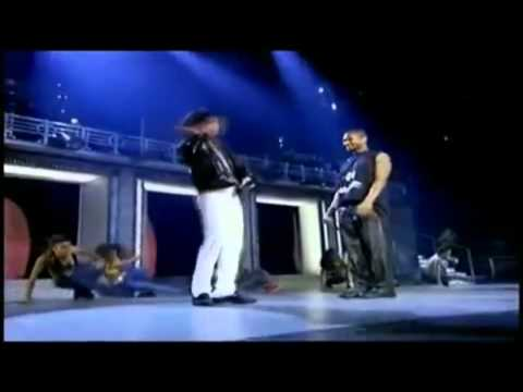 Michael Jackson and Usher dancing