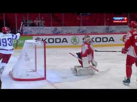 RUSSIA vs. DENMARK - 3:1 █ All Goals █ IIHF World Championship 2012