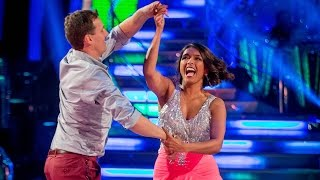 Sunetra Sarker and Brendan Salsa to 'Turn The Beat Around' - Strictly Come Dancing: 2014 - BBC One