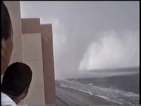Myrtle Beach tornado up close 2001
