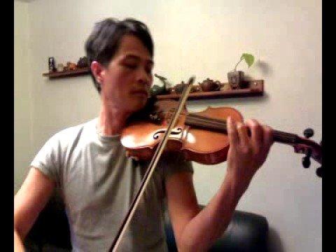 小提琴演奏 - 月亮代表我的心