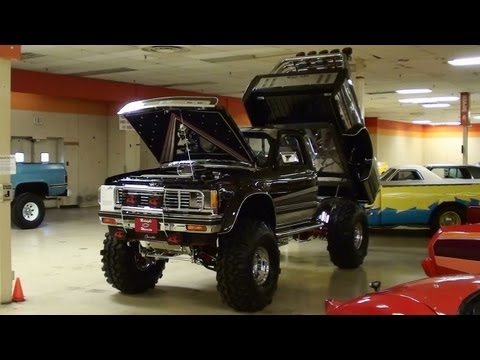 Custom Lifted Chevy S10 Supercharged Show Truck 4x4