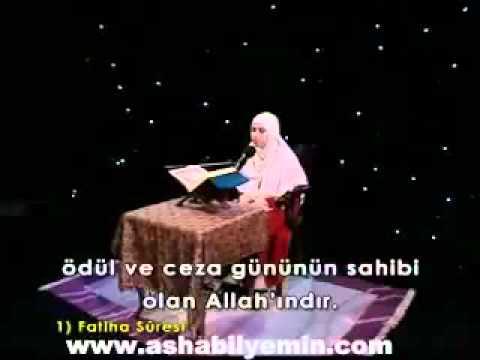 Sümeyye Eddeb - Surat 1: Al Fatiha video